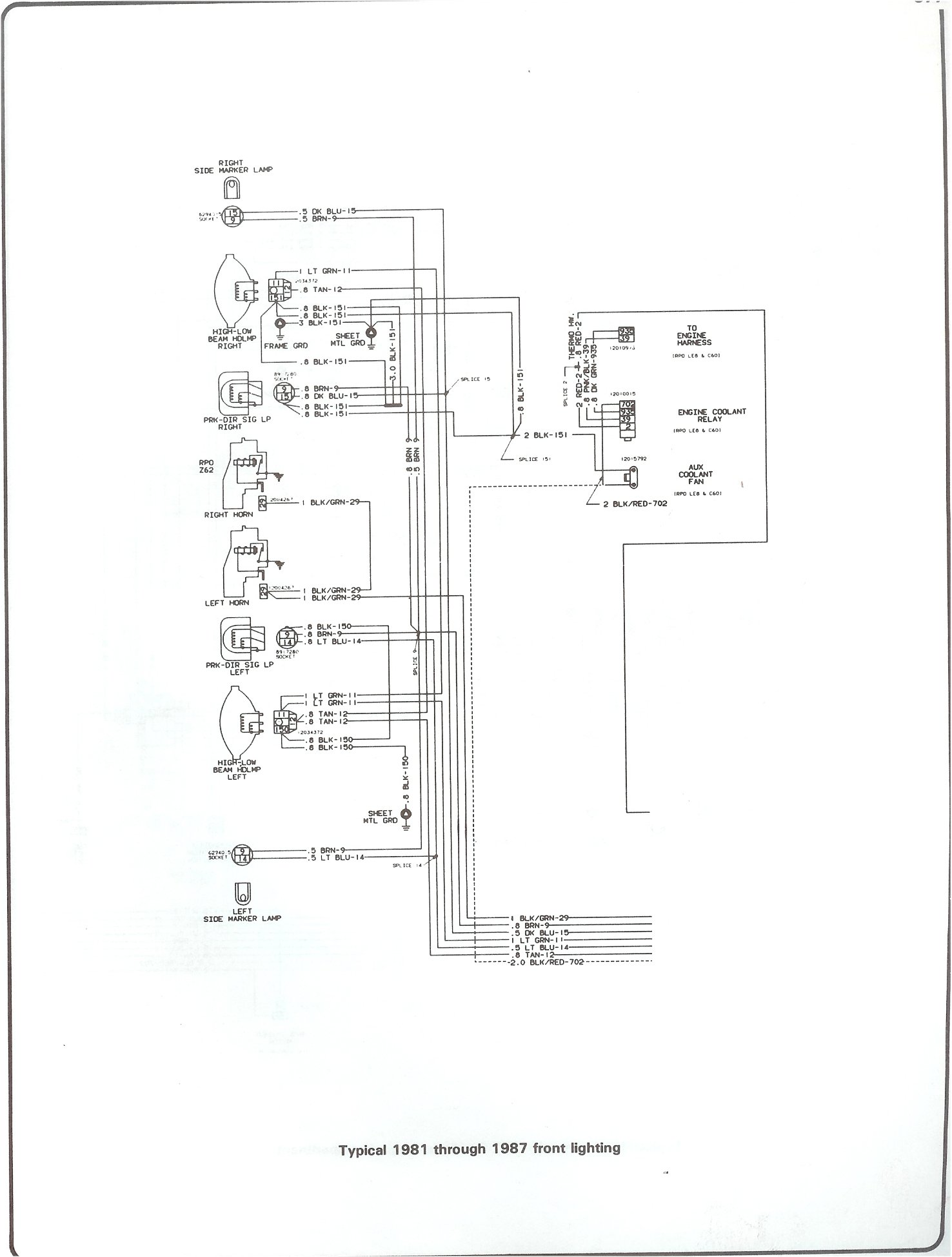 Headlight Switch Wiring Diagram Chevy