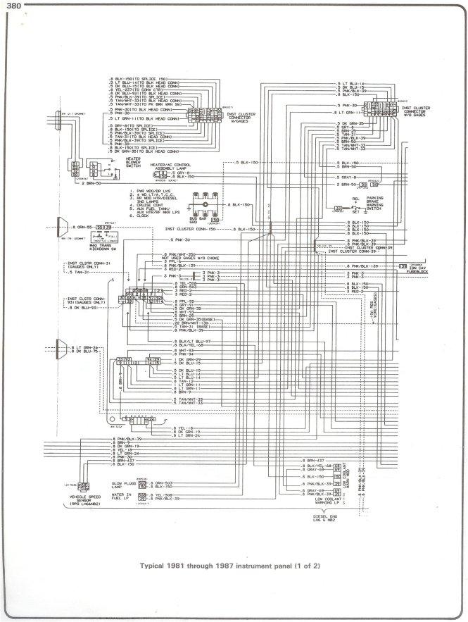 84 chevy k10 wiring diagram wiring diagram 1983 chevrolet truck c20 3 4 ton p u 2wd 5 7l 4bl ohv 8cyl 1985 chevy ca fuse box