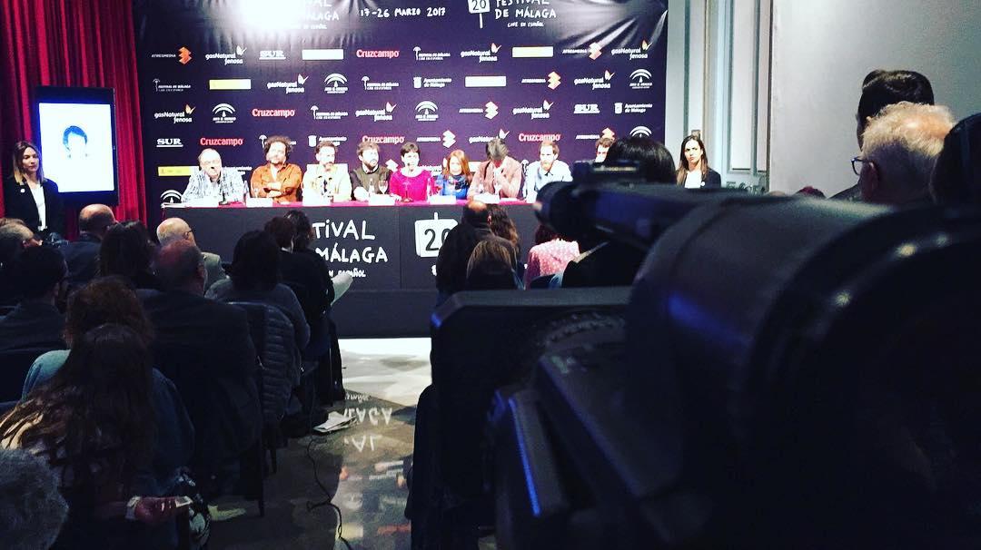 """Asistimos a la rueda de prensa del equipo de """"Selfie"""" #20FestivalMalaga"""