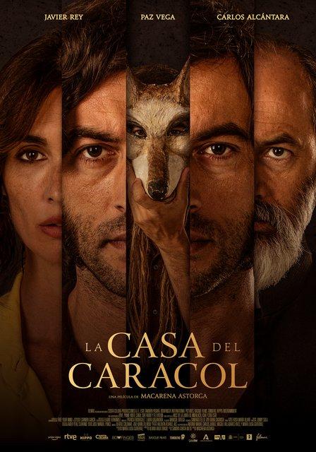 """PÓSTER DE LA PELÍCULA """"LA CASA DEL CARACOL"""" CON JAVIER REY Y PAZ VEGA. 11 DE JUNIO EN CINES"""