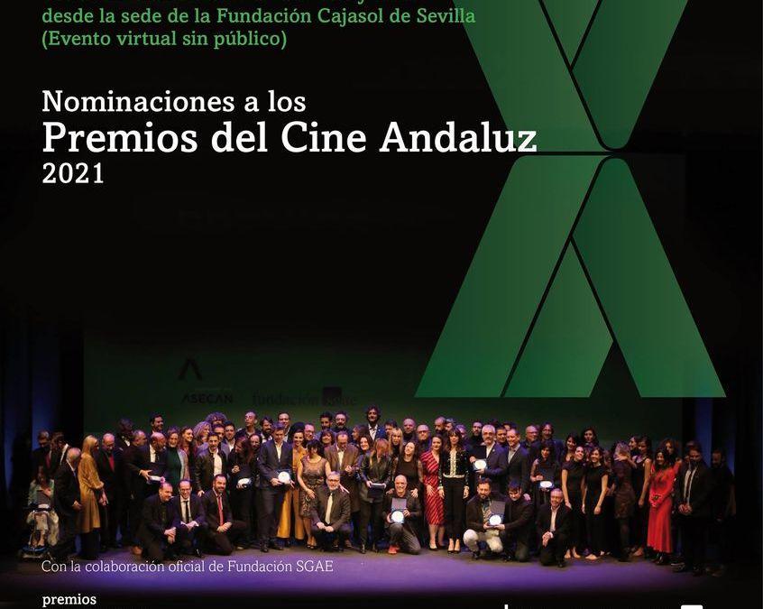 Nominaciones de los Premios del Cine Andaluz 2021