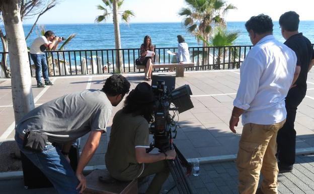 Leila Hatami y Elena Martínez ruedan cine internacional en Marbella