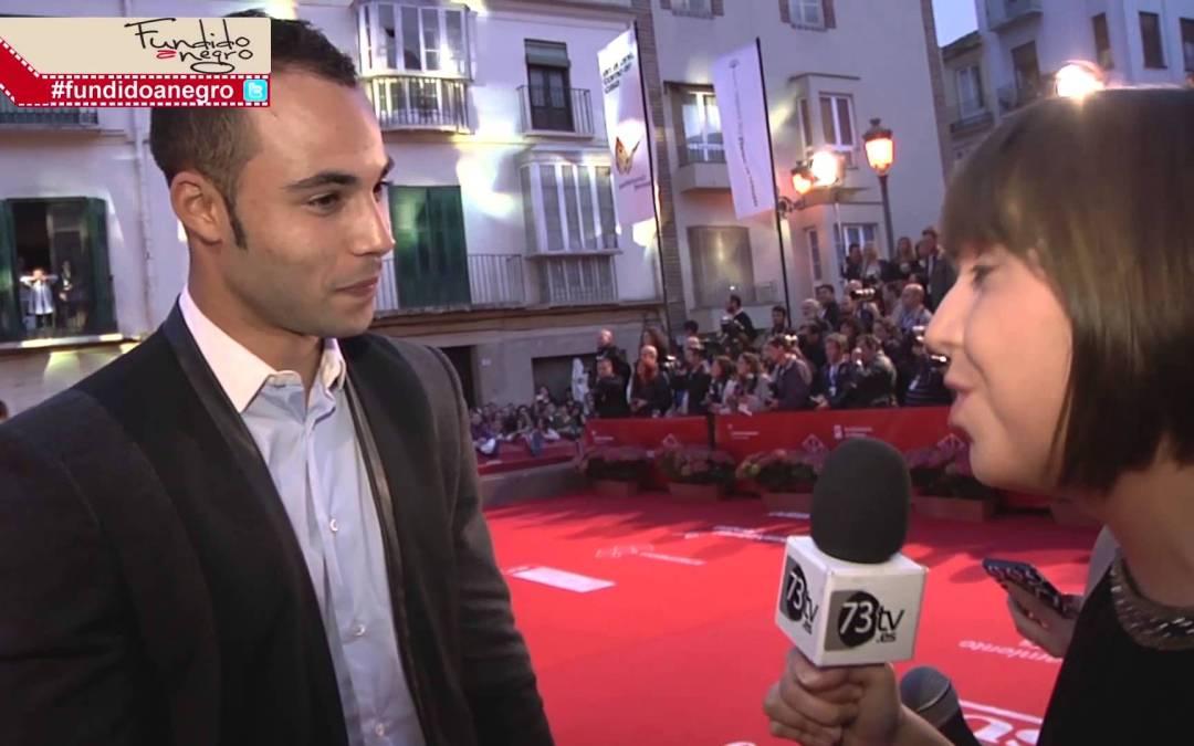 @NasserSaleh  en la Alfombra Roja #17festivalmalaga #fundidoanegro