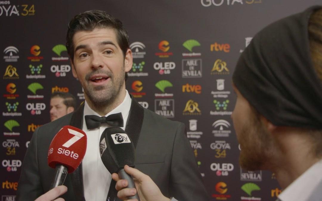 Premios Goya Miguel Angel Muñoz en la alfombra roja de los #Goya2020