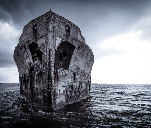 The Bow Of The Wreck Of The Ss Selma A 425 Foot Long
