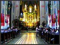 кафедральный монастырь во Львове, выдающееся архитектурное творение Австрии