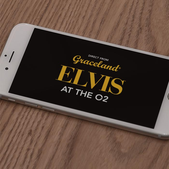 Branding and Logo design for Elvis at the O2