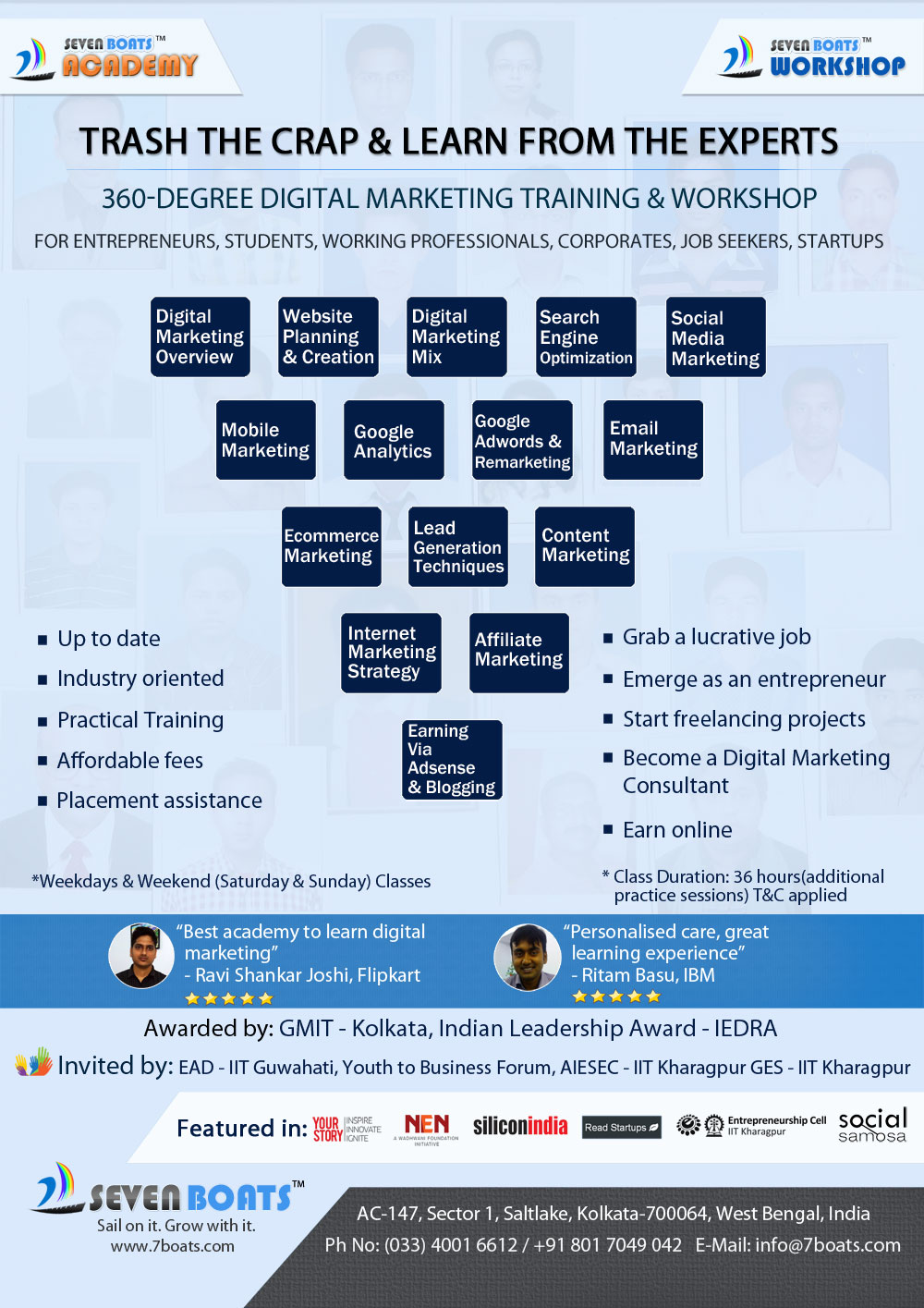 Learn everything you need to know about starting your own seo & web design business as a digital marketer. Digital Marketing Training in Kolkata & Hyderabad ...