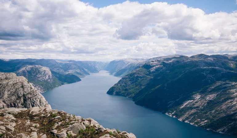 Preikestolen Hike, Norway