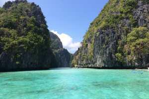 Big Lagoon's entrance things to do in Palawan