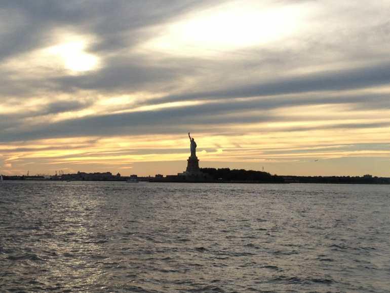 Statue of Liberty, Ellis Island.