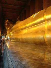 The reclined buddha, Bangkok, Thailand.