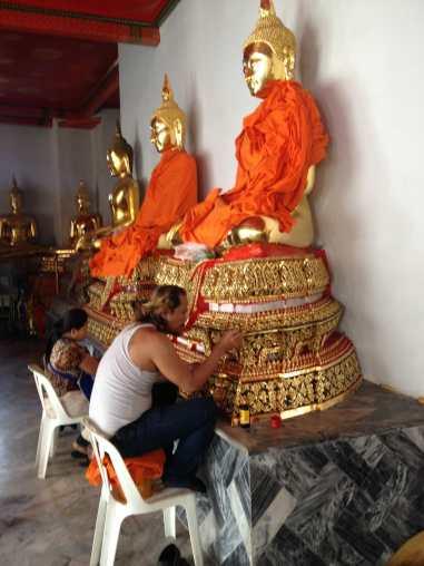 Restoring the Buddhas
