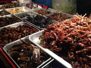 Exotic food in Khao San Road