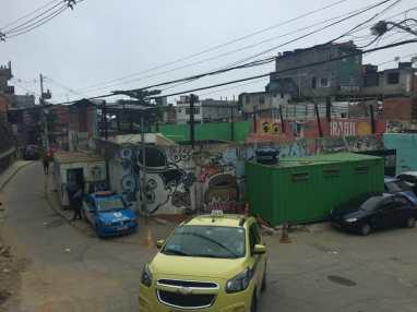 Morro Dois Irmãos hike. Vidigal Favela, Rio.