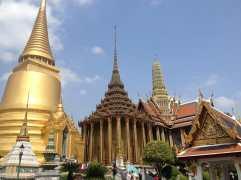The majestic Grand Palace, Bangkok, Thailand.