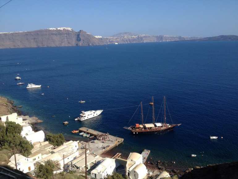 fazer em Santorini