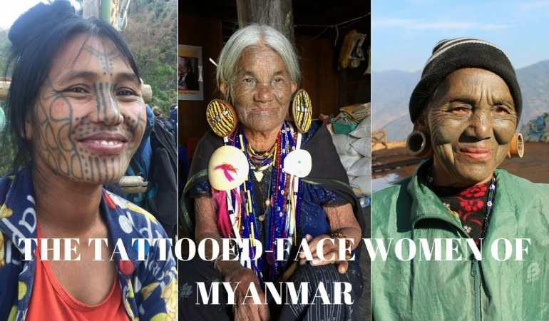 As extraordinárias mulheres de rosto tatuado de Myanmar