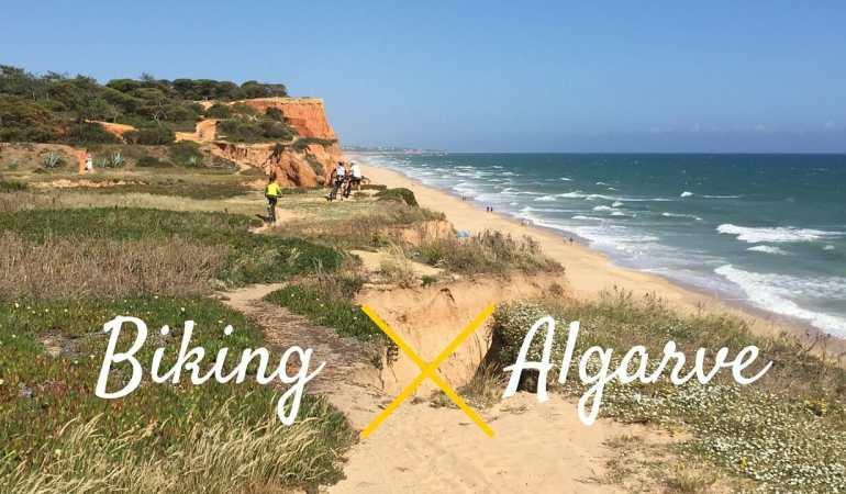 En Bicicleta en el Algarve, Portugal