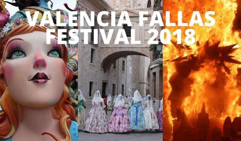 Las Fallas 2018, Valencia, España