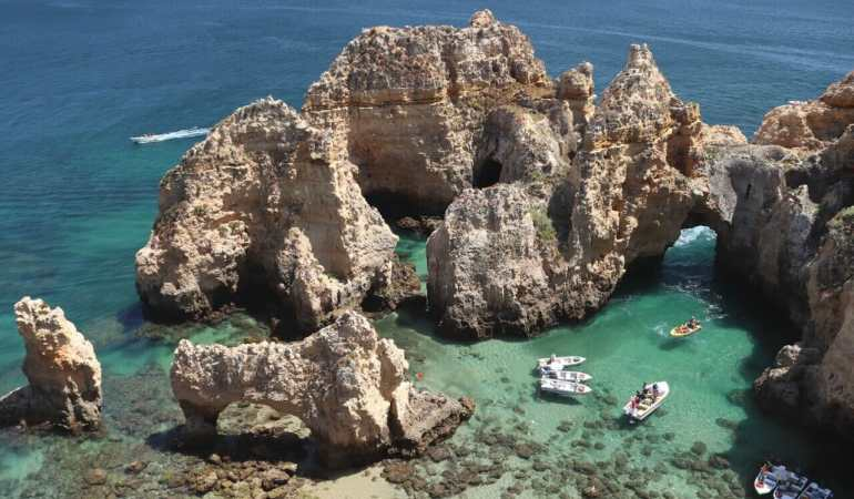 Ponta da Piedade and all its splendor!