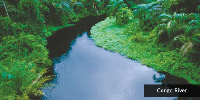 Rivers in Africa - Congo River