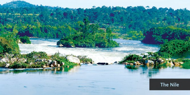 Rivers in Africa - Nile River