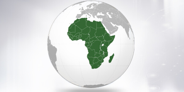 Big size Africa Map