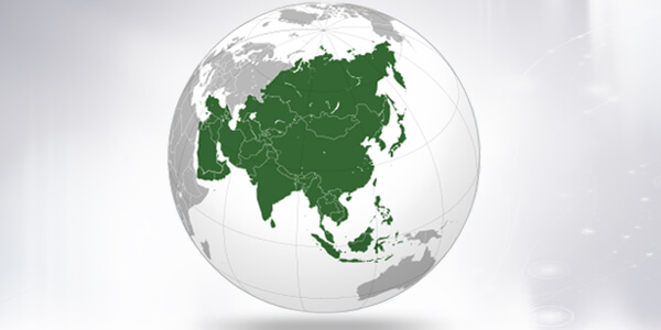 Big size Asia Map