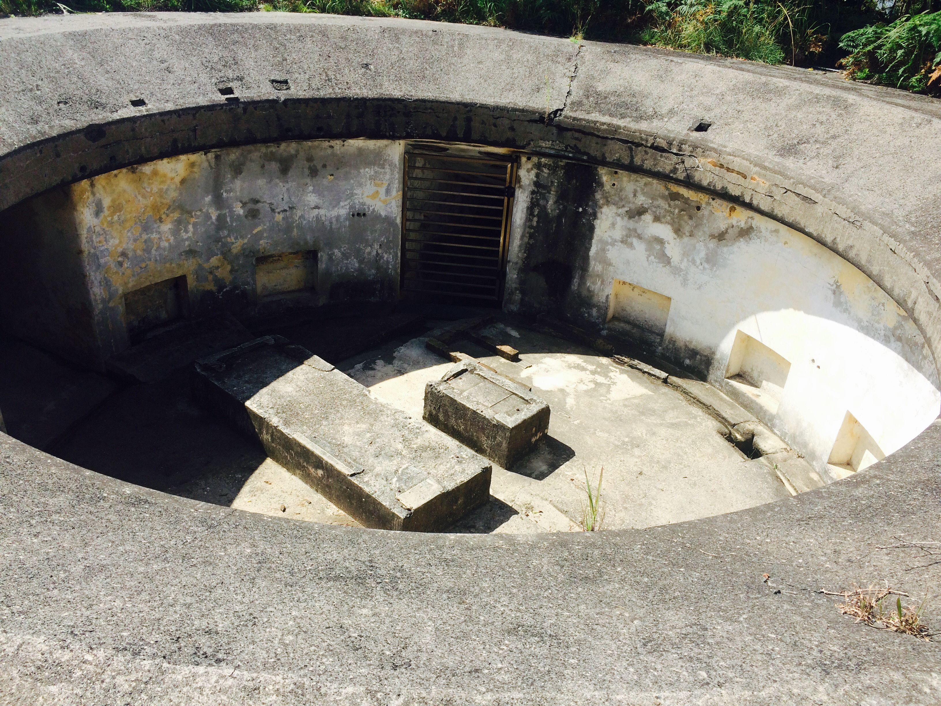 Emplacements At Middle Head