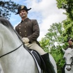 The Lipizzaners with a brace of Napoleons