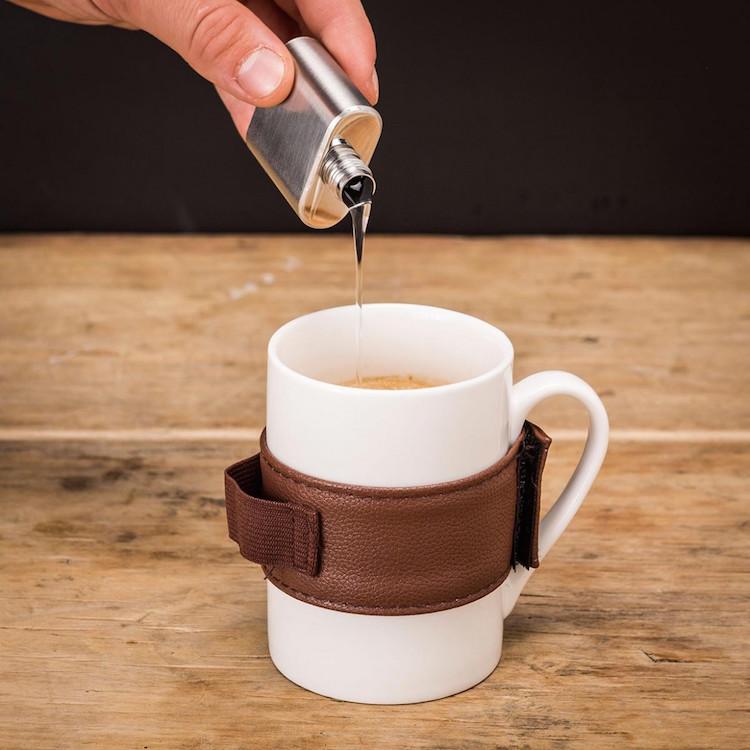 Un Caf Doucement Arros Pas Au Dessus De La Ceinture