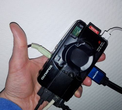 Raspberry PI im Kleinbildkameragehäuse