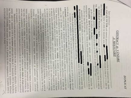 contract mosteniri pg 1