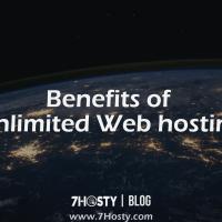 Benefits of Unlimited Web hosting