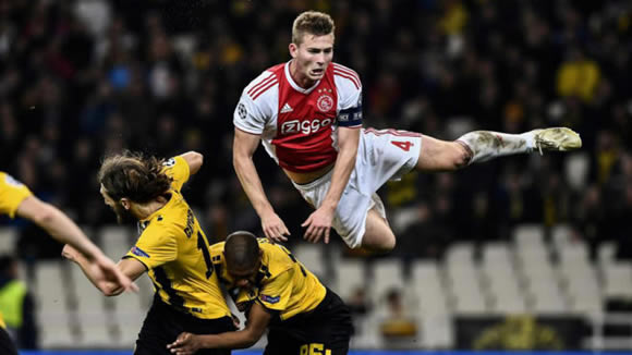 Barcelona now just need to sign De Ligt - 7M sport
