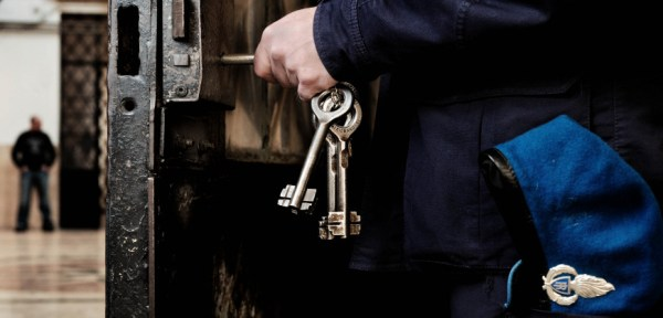 CARCERE REGINA COELI DETENUTI AMMINISTRAZIONE PENITENZIARIA RECLUSIONE ARRESTO POLIZIA PENITENZIARIA CARCERATI
