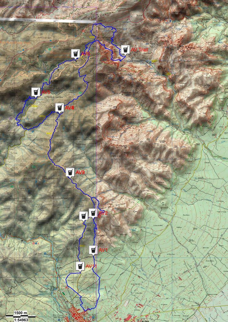 trail la fageda la senia