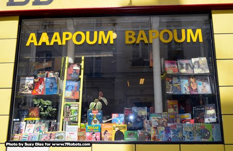 Aaapoum Bapoum Comics Bande Desinée Paris. Photo by Suzy Dias