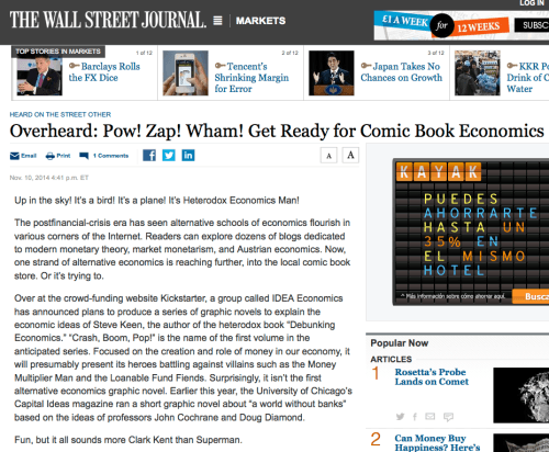 #CrashBoomPop featured in the Wall Street Journal! # ...