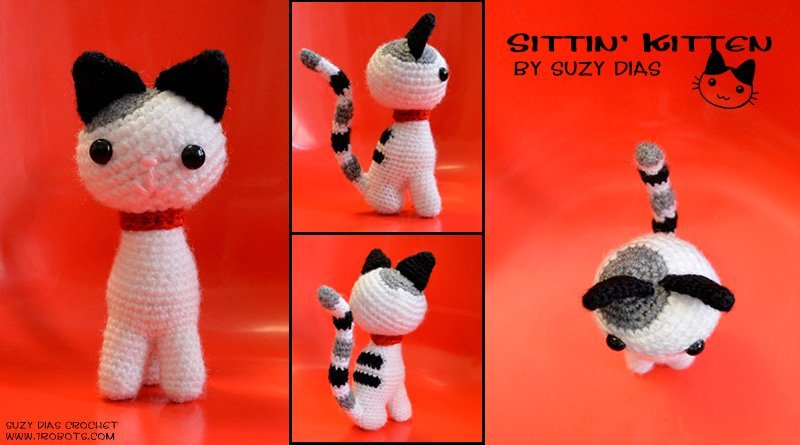 Free Little Kitty Cat Amigurumi Crochet Pattern And Tutorial : Amigurumi / Crochet Archives - 7 Robots Miguel Guerra ...