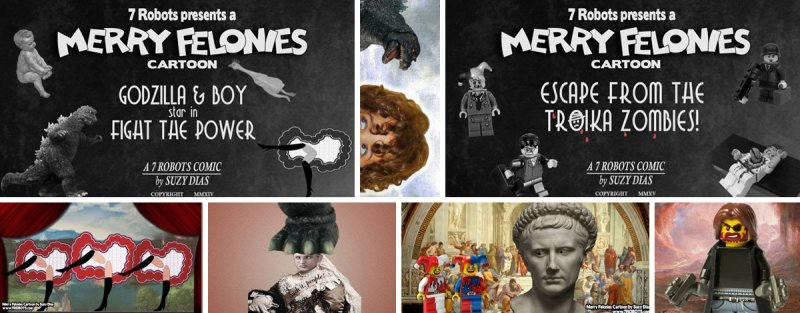 Merry Felonies Animations by Suzy Dias