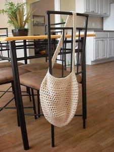 Crochet Market Bag by Tiffany Roan