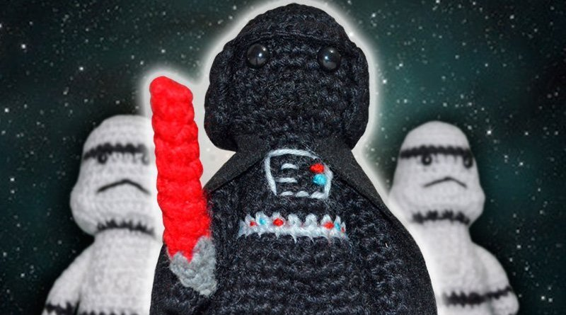 Star Wars Crochet Darth Vader by Suzy Dias