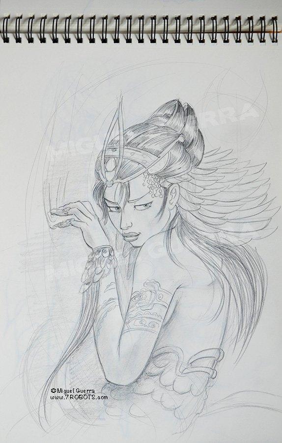 Miguel Guerra Serpent Fairy