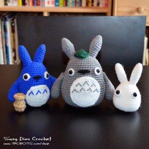 Crochet Tototro by Suzy Dias