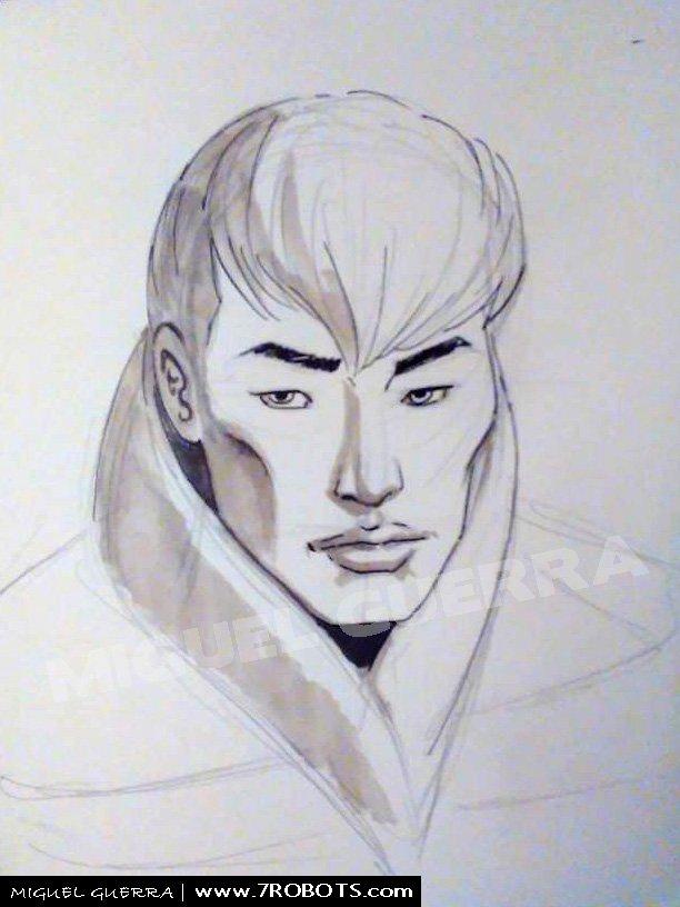 Miguel Guerra Earth Dream Sketches/Ideas