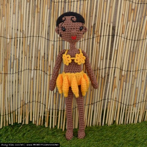 Crochet Josephine Baker by Suzy Dias