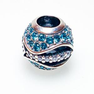 Turquoise Waters Crystal Fish Bead - 7SEASJewelry