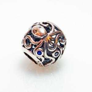 Dancing Octopus Bead - 7SEASJewelry